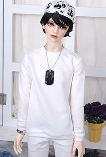 플레인 맨투맨[SDB]_White